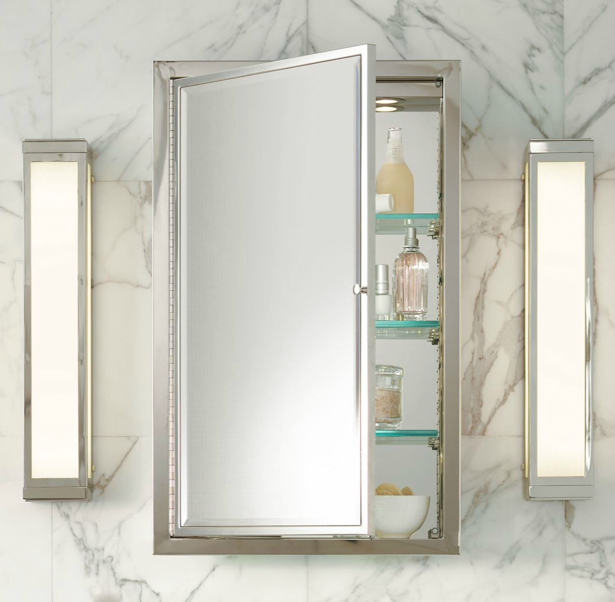 Recessed Shaving Cabinets 20 Tips For An Organized Bathroom