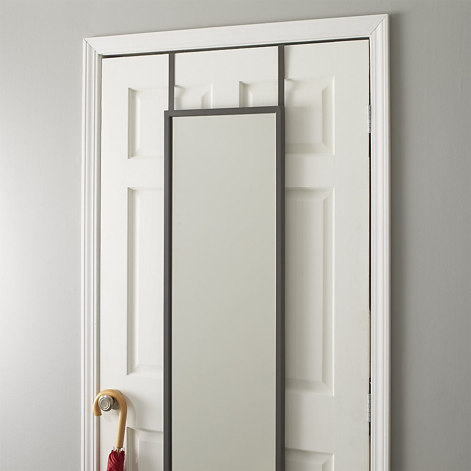 Oval Mirror Long Bring Home Functional Style With An Over The Door Mirror