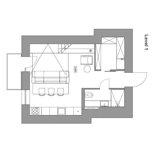 Medium Crop Of Small Apartment Plan