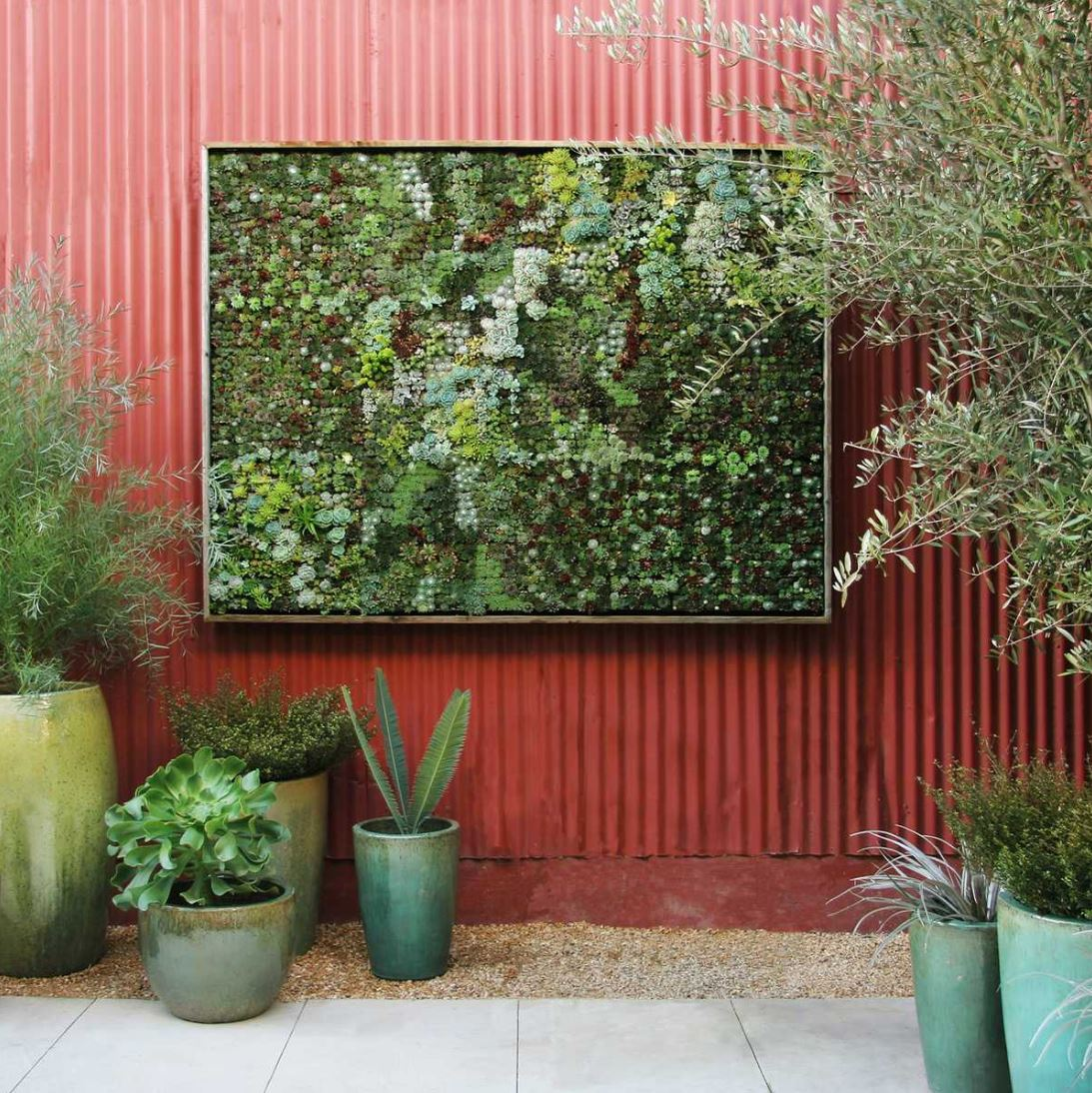 Vertikal Gardinen Think Green 20 Vertical Garden Ideas