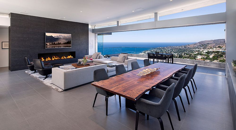 Raw Natural Goodness 50 Live-Edge Dining Tables That Wow! - contemporary tables for living