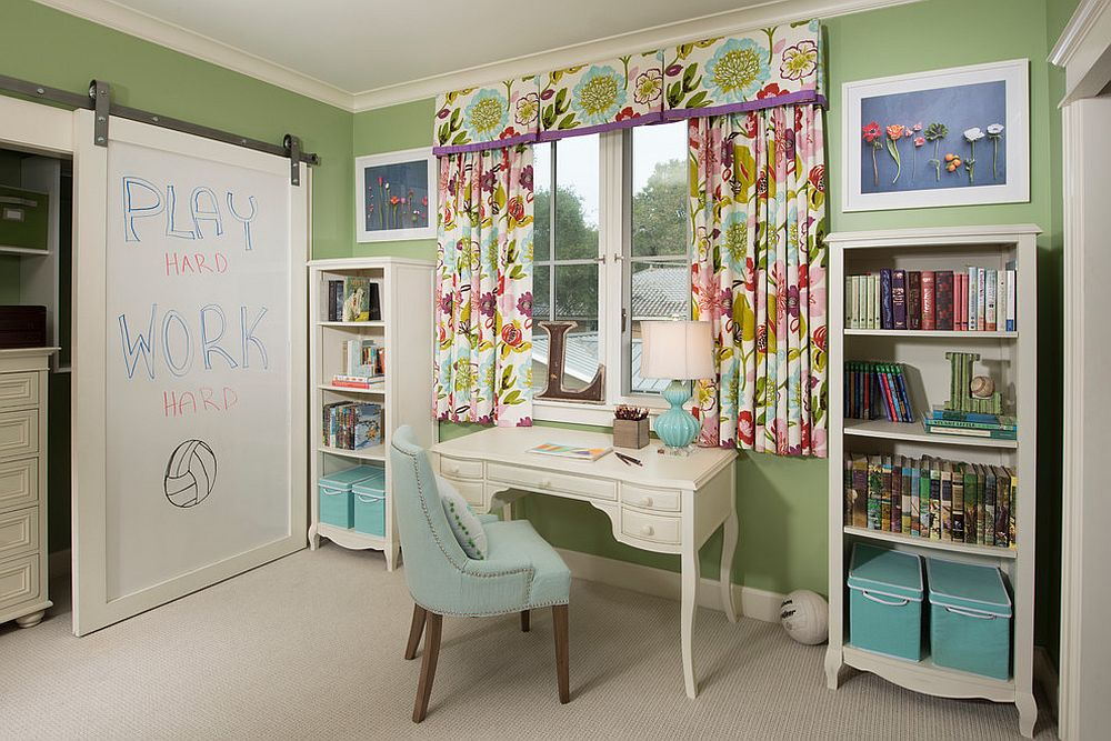 27 Creative Kids Rooms with Space
