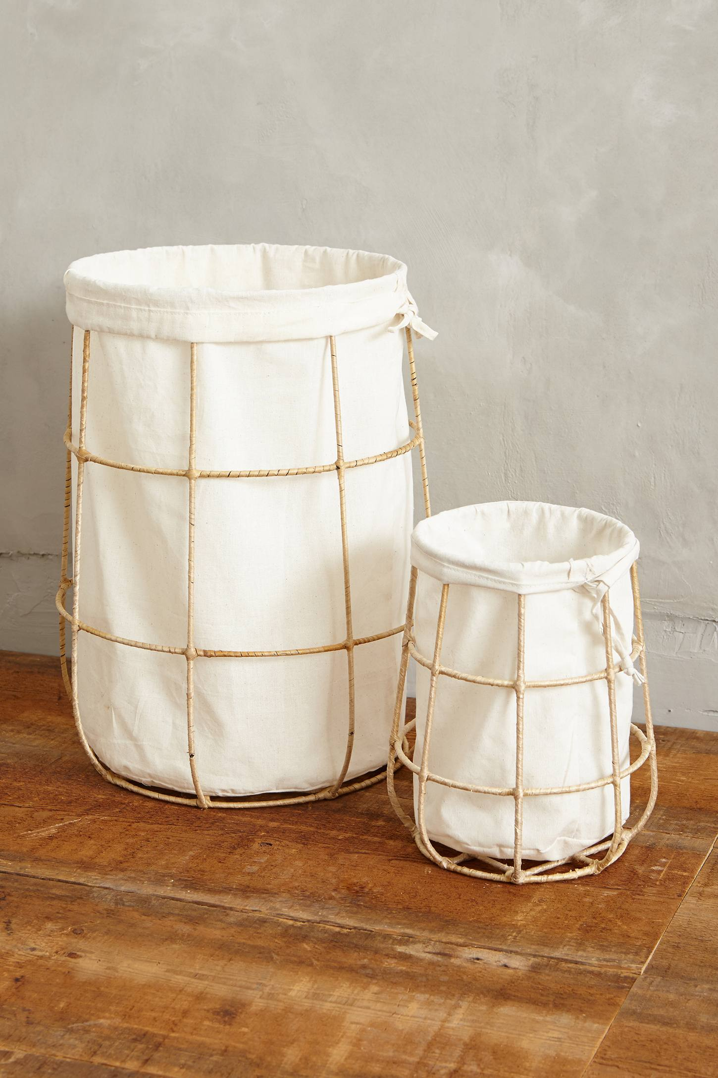 Ferm Living Wire Basket 20 Laundry Basket Designs That Make Household Chores Stylish