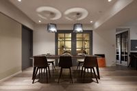 Dark Sophistication: Thirty-Year-Old Apartment Embraces a ...