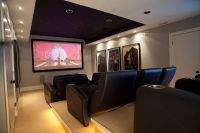 20 Beach-Style Home Theaters and Media Rooms That Wow!