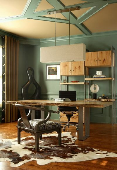 Natural Allure: 25 Home Offices That Celebrate the Charm of Live-Edge Décor