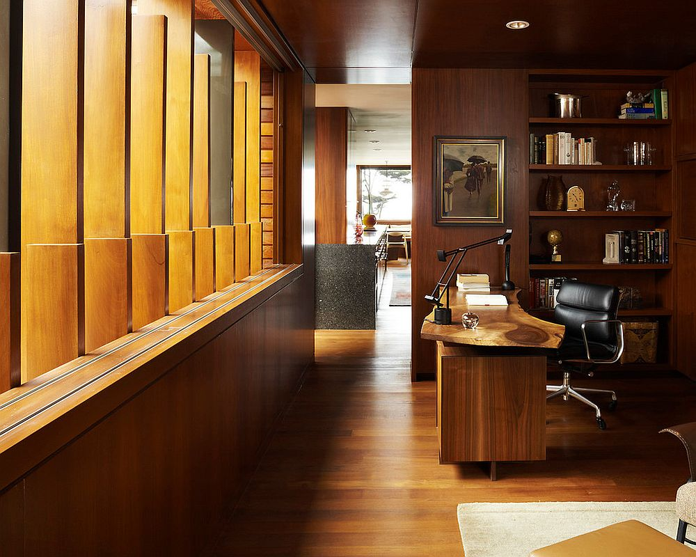 Natural Allure 25 Home Offices That Celebrate The Charm Of Live Edge Décor