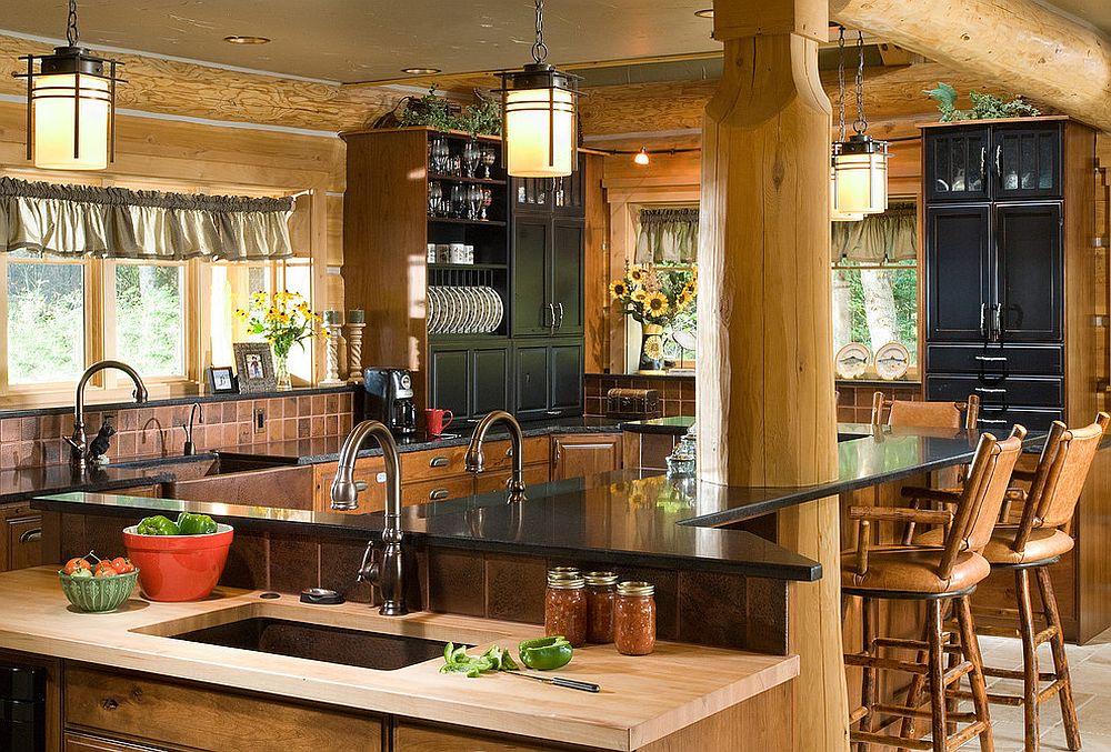 hammered copper tile backsplash kitchen rustic visual copper backsplash design pictures remodel decor ideas page