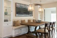 Dining in Comfort with Kitchen Banquettes