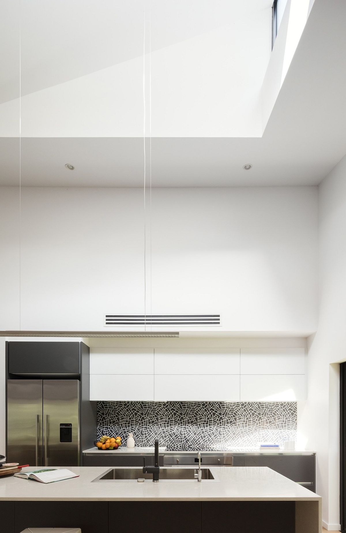 Kitchen Natural Ventilation Nestled On Natures Edge 1970s Brick Dwelling Gets A
