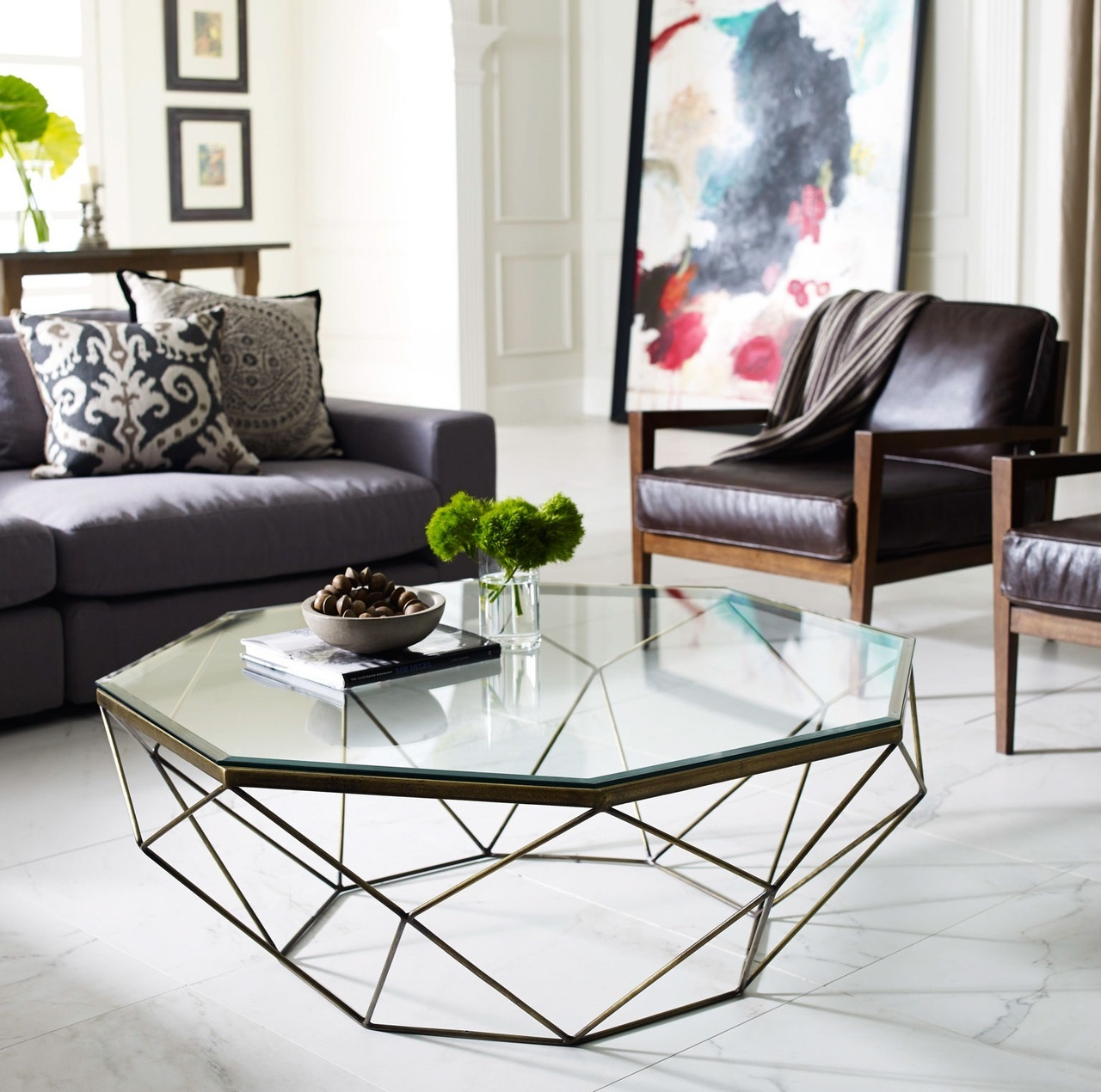 Glass Tables Living Room 30 Glass Coffee Tables That Bring Transparency To Your