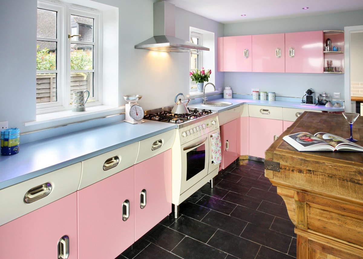 1950s Kitchen Design 25 Pastel Kitchens That Channel The 1950s