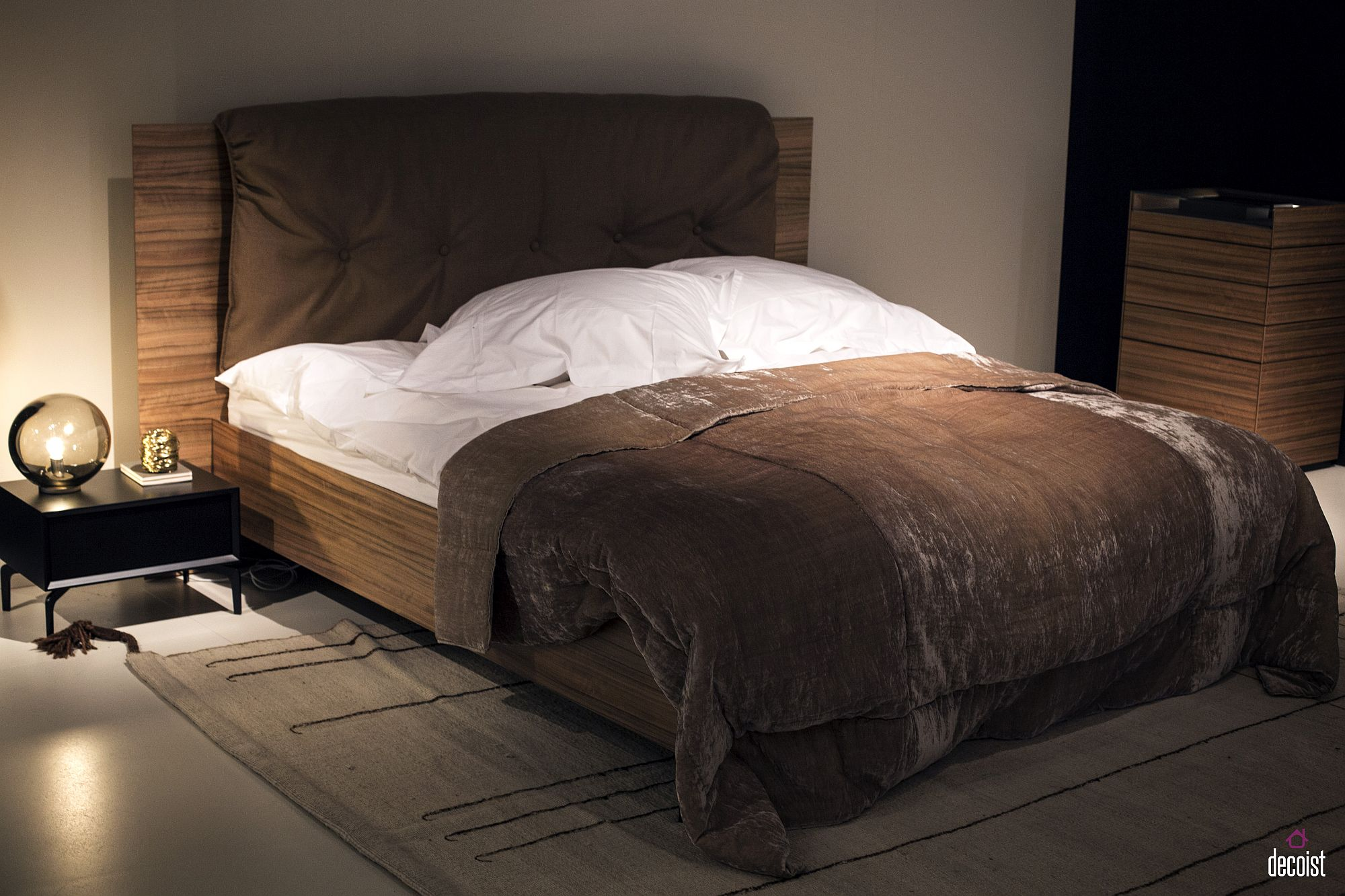 Low To Ground Bed Frames 15 Bedside Tables And Nightstands With Understated Elegance