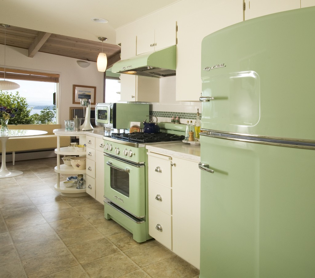 Cuisine Vintage 25 Pastel Kitchens That Channel The 1950s