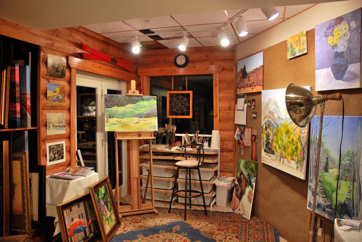 Art Studio Decor Creative Corners Incredible And Inspiring Home Art Studios