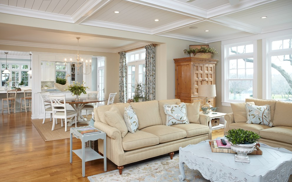 Beyond White Bliss of Soft and Elegant Beige Living Rooms! - beige couch living room