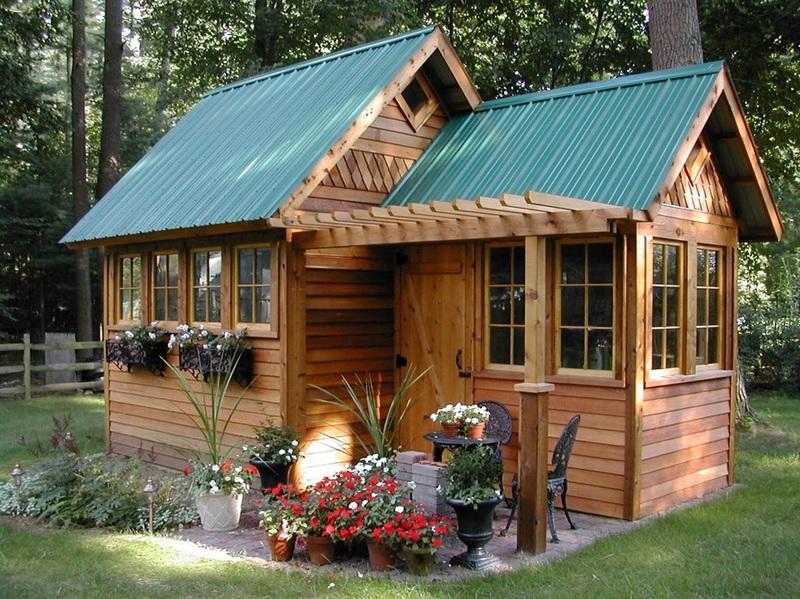 Fairytale Backyards 30 Magical Garden Sheds - garden shed design