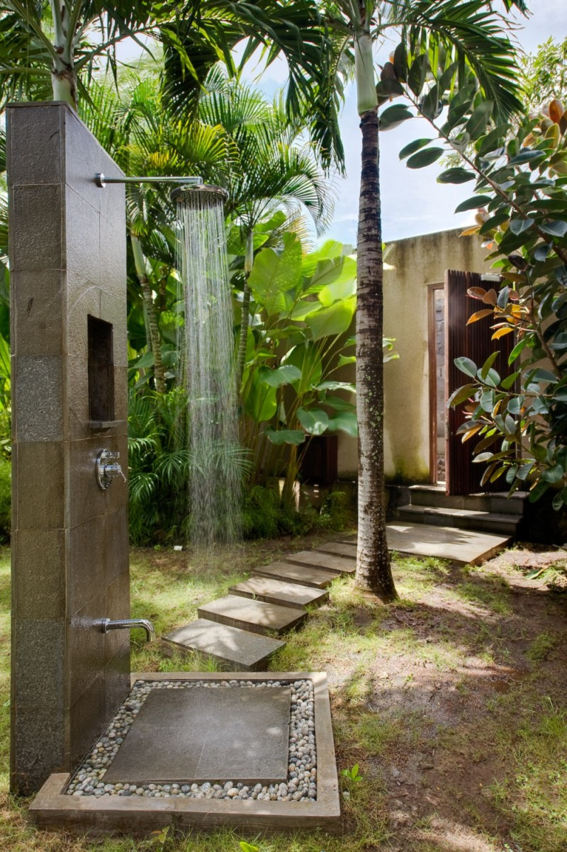 Backyard Shower Epitome Of Luxury 30 Refreshing Outdoor Showers
