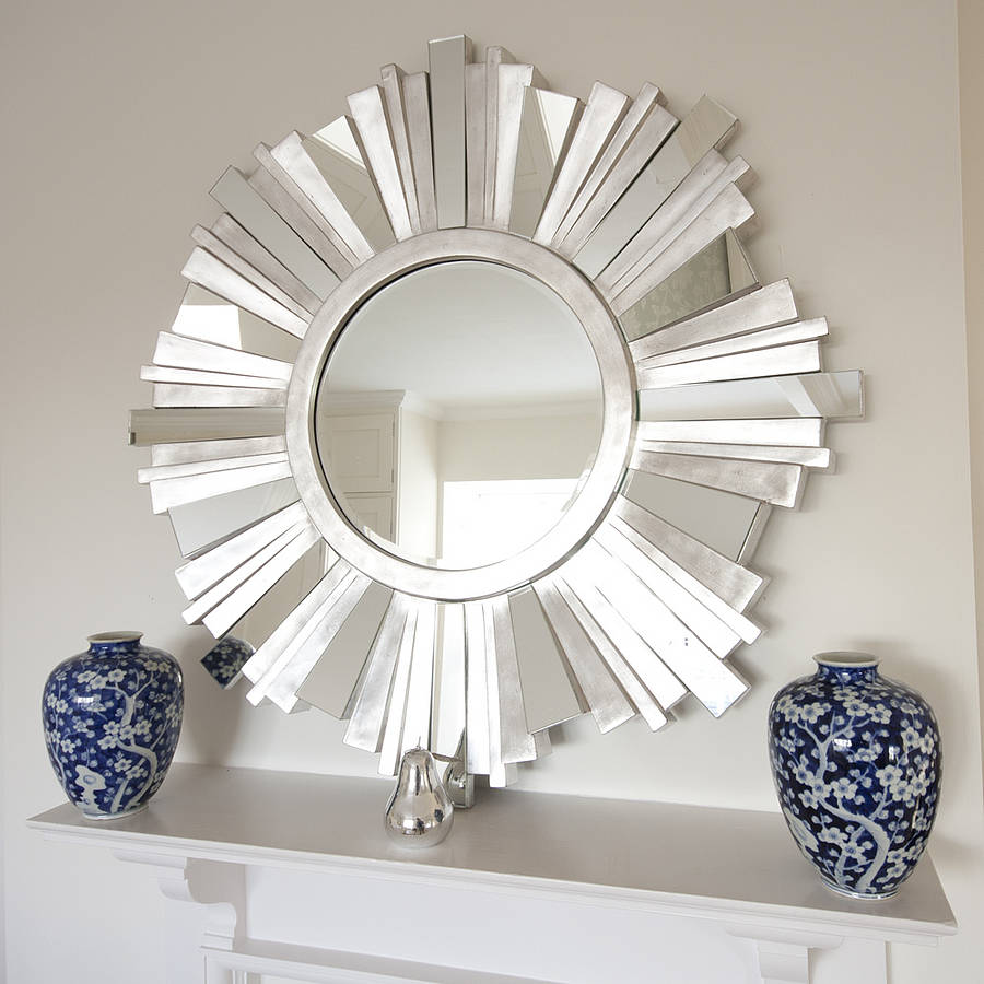 Sun Shaped Mirrors 30 Exceptional Ideas For Decorating With A Sunburst Mirror