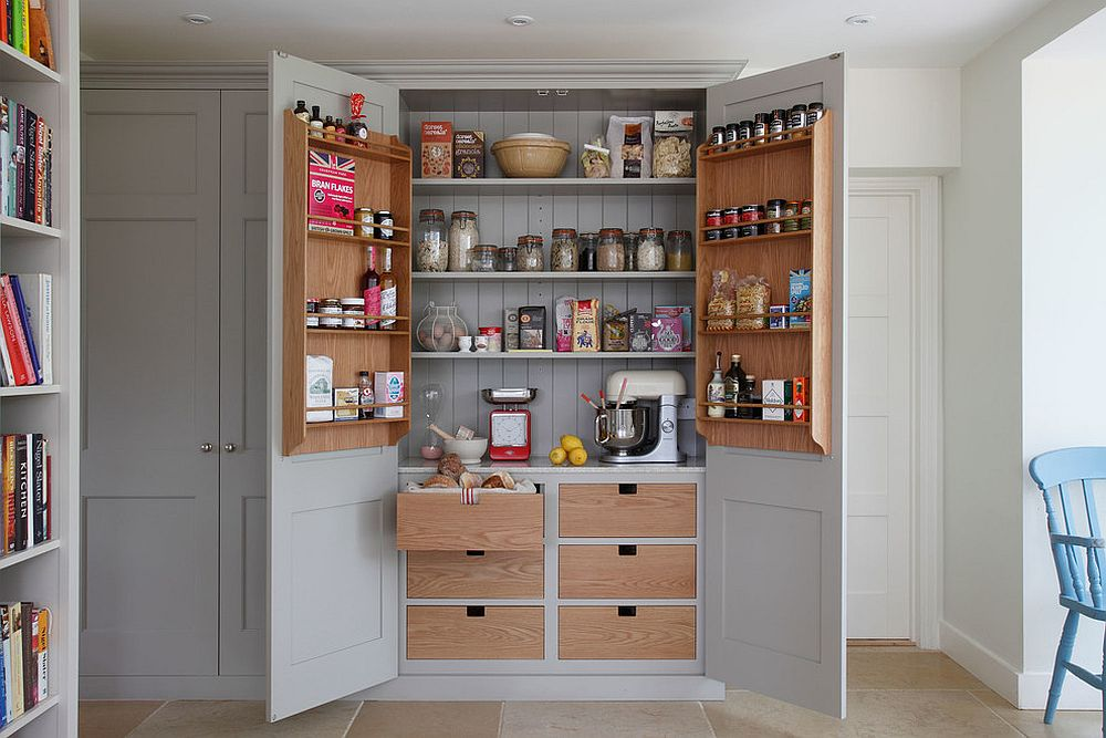 Spacing Between Kitchen Cabinets 10 Small Pantry Ideas For An Organized, Space-savvy Kitchen