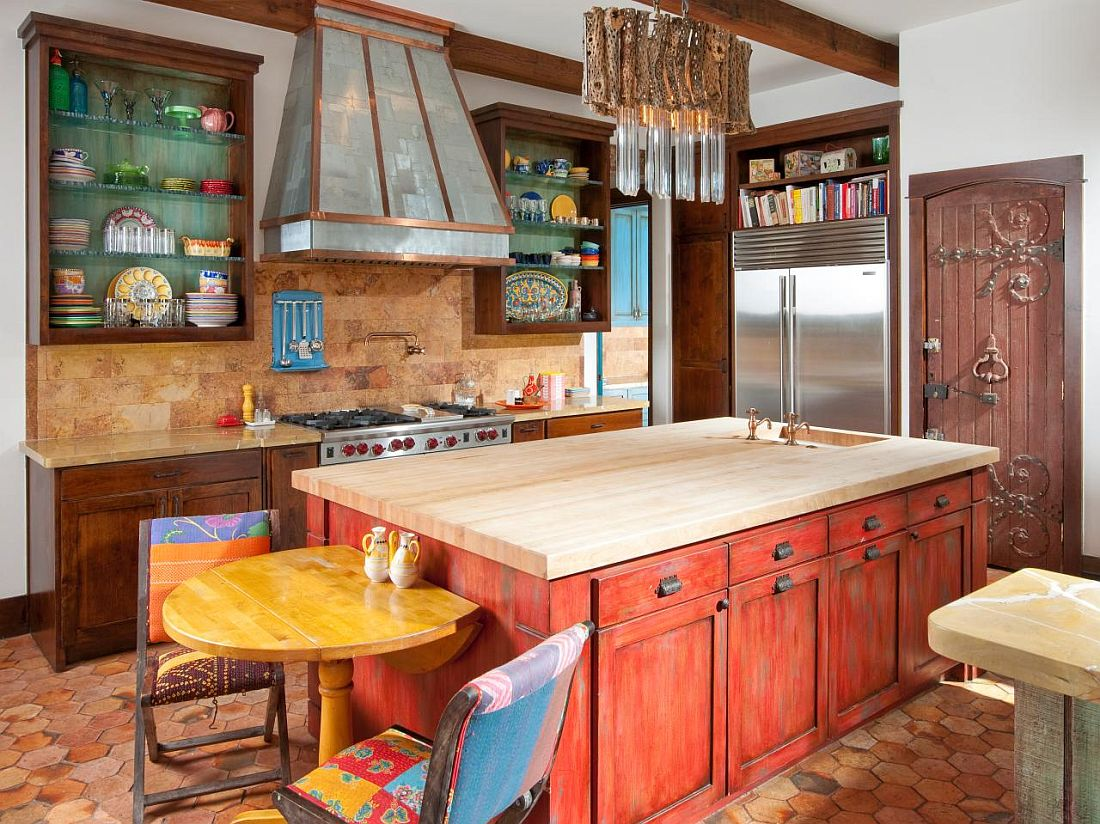 Painting Kitchen Cabinets Long Island 25 Colorful Kitchen Island Ideas To Enliven Your Home
