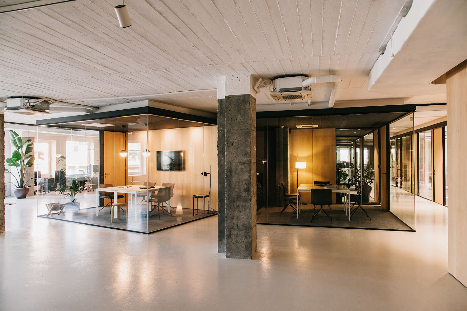 White with a Dash of Industrial Charm: CLOUD Coworking in