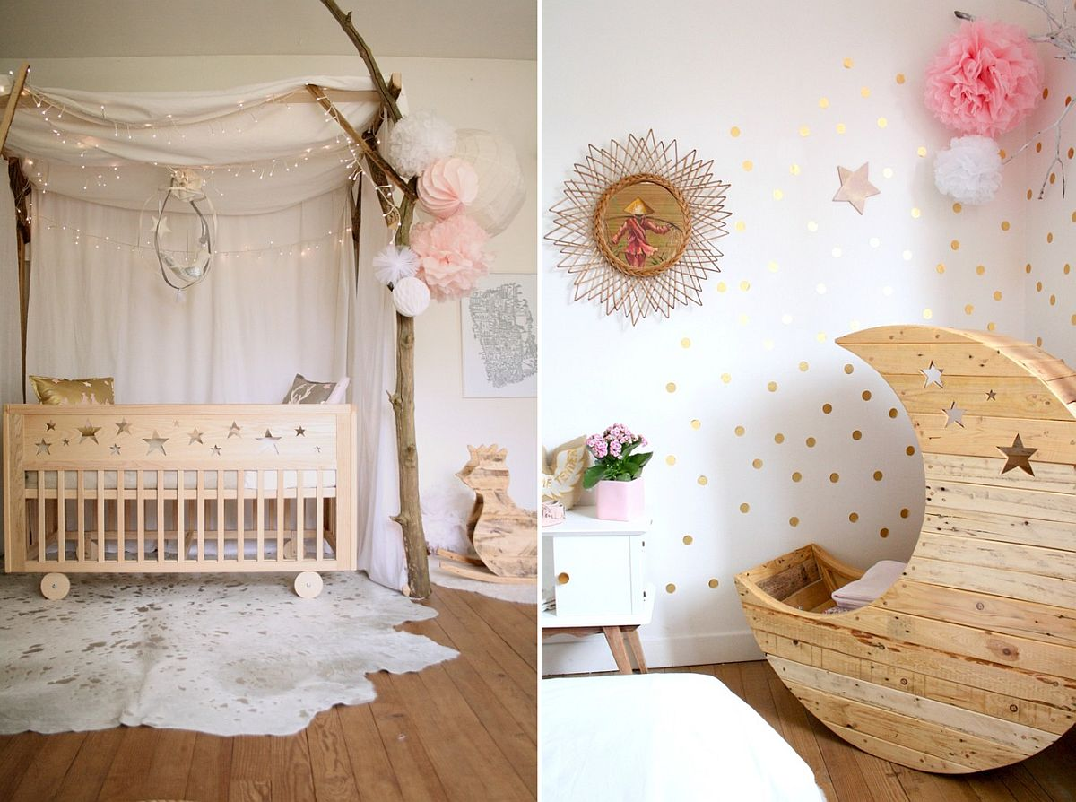 Shabby Chic Vintage Nursery 10 Shabby Chic Nurseries With Charming Pink Radiance
