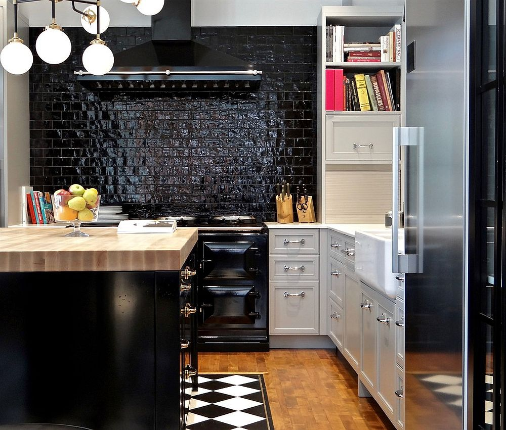 Black Island Kitchen Dark Delicacy How To Bring A Brilliant Black Island Into Your Kitchen