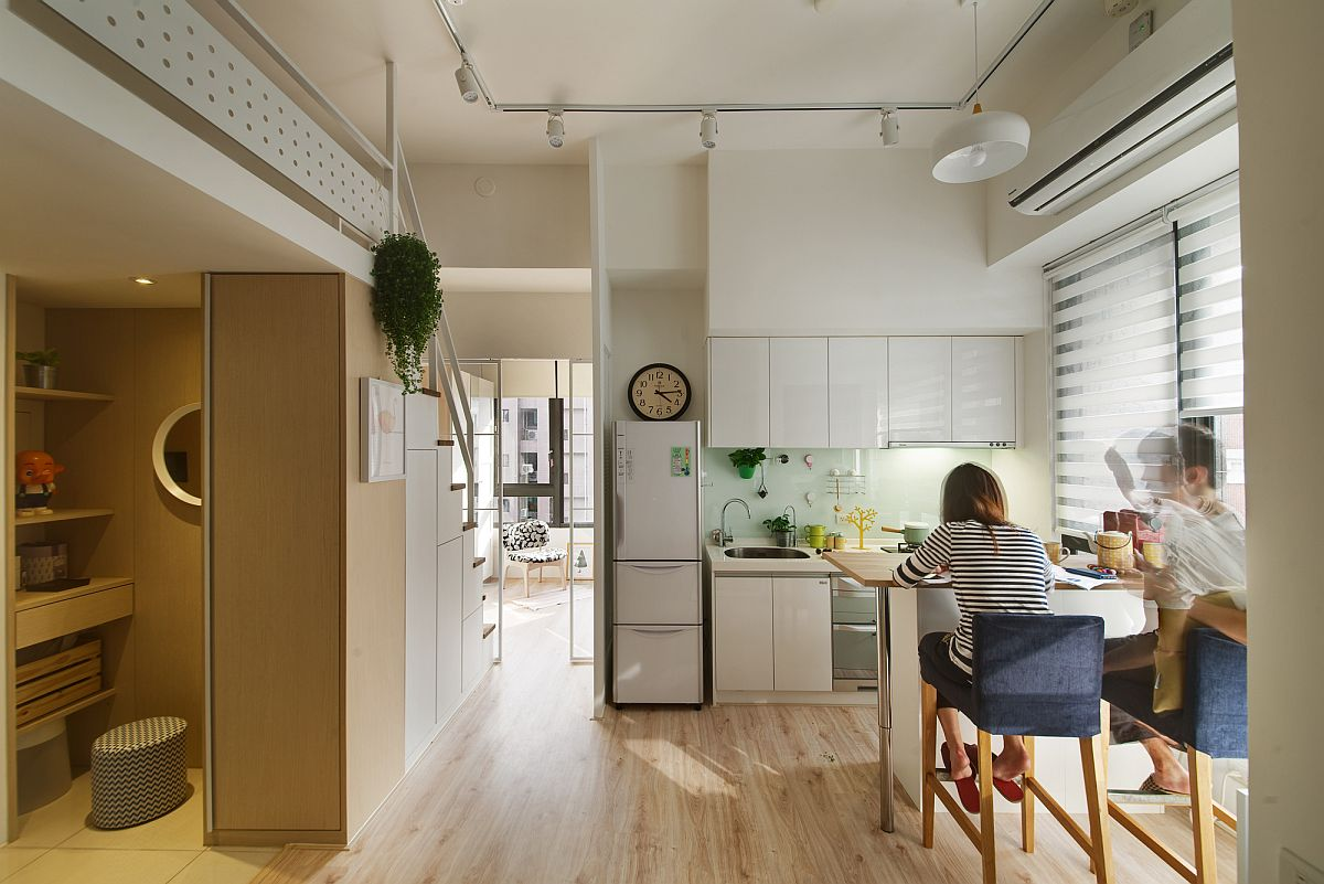 Open Kitchen Design Small 50 Tiny Apartment Kitchens That Excel At Maximizing Small Spaces