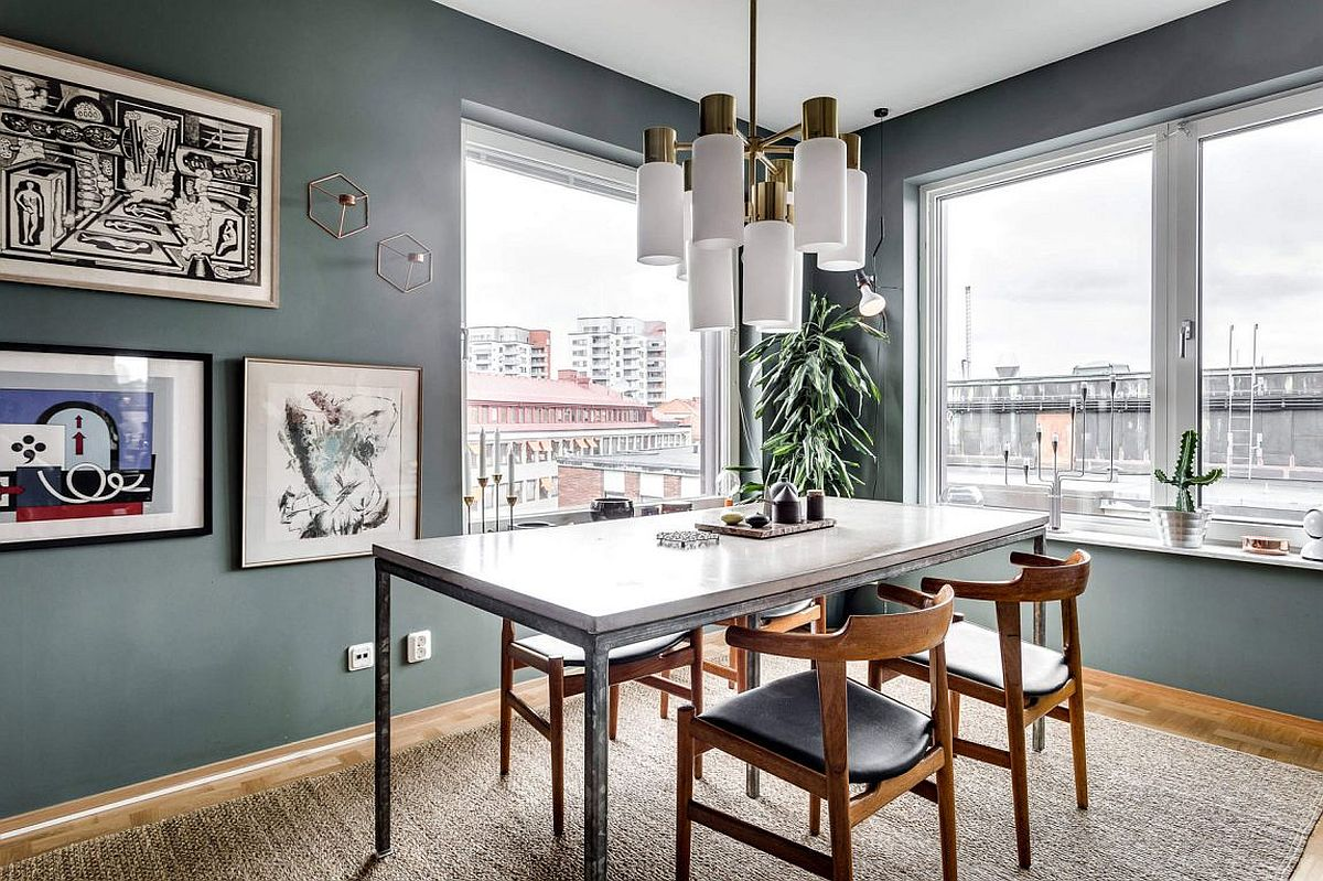 Dining Area 25 Tiny Apartment Dining Rooms That Save Space And Multitask