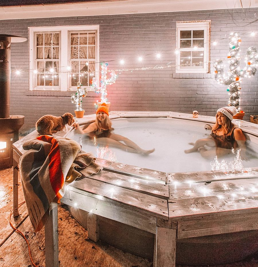 20 Homemade Hot Tubs That Are Budget Friendly