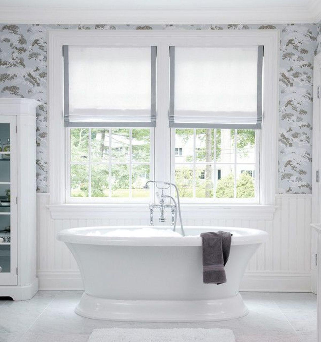 Contemporary Bathroom Window Treatments That Ideal For Your Dream Home In 2020 Great Photos Decoratorist