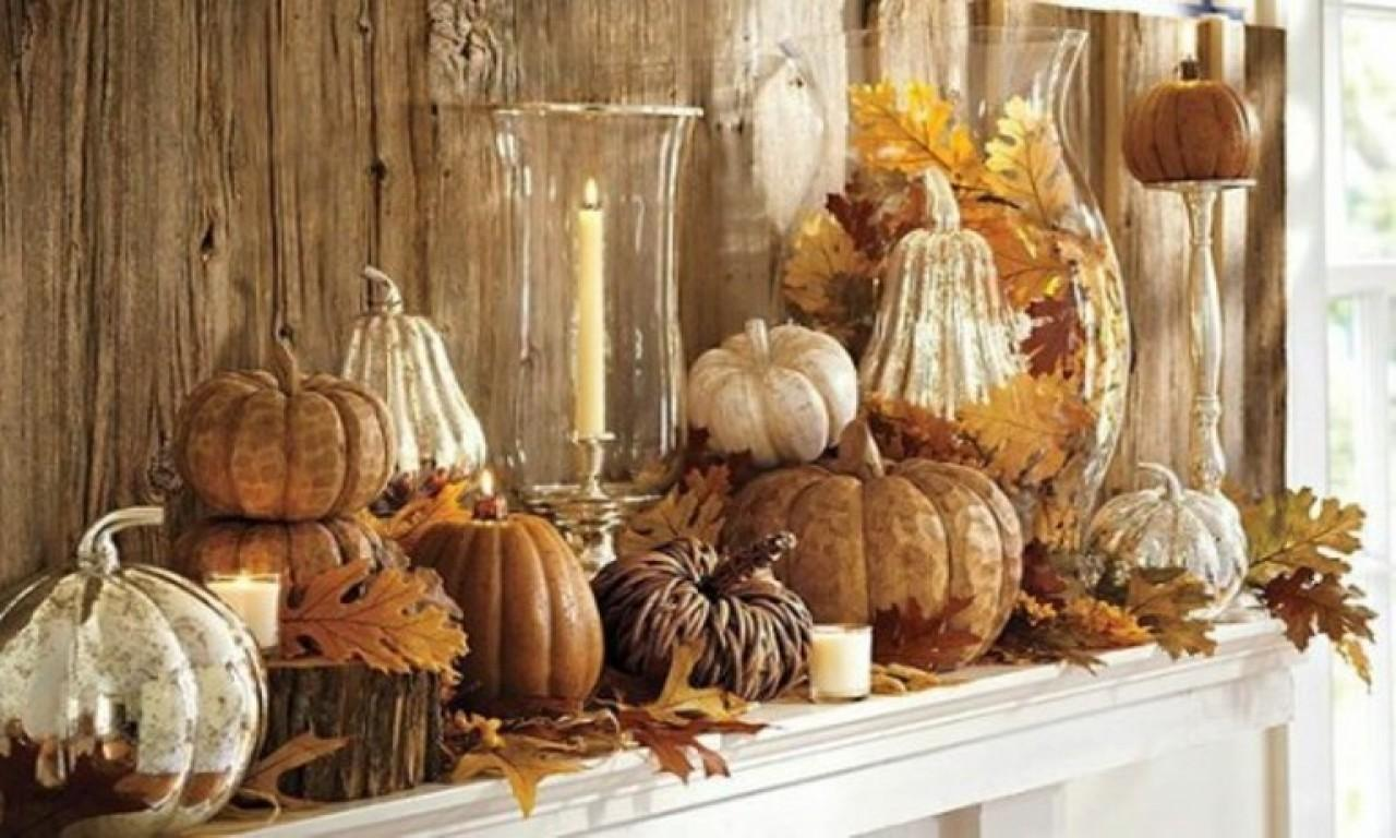34 Elegant Thanksgiving Mantel Decorating Ideas That Will Mesmerize You Pictures Decoratorist
