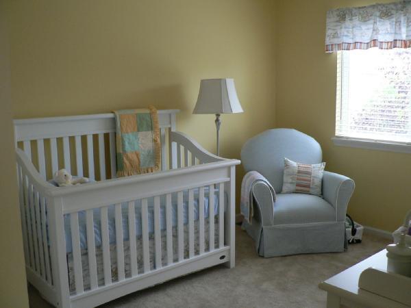 Modern Nursery Wallpaper Girl Nursery
