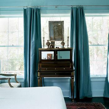 Turquoise Curtains Design Ideas - turquoise curtains for living room