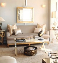 Mirrored Coffee Table - Contemporary - living room