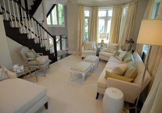 Black And White Wallpaper Decor Living Room