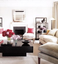 Lacquered Coffee Table - Contemporary - living room - Elle ...