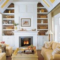 Living Room Built Ins Design Ideas