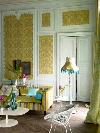 Black And Mustard Wallpaper James Merrell Mustard Home Decor House Of Turquoise