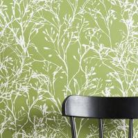 Ferm Living - Wildflower Wallpaper - Wallpaper - Living ...