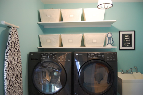Laundry Room Paint Colors Transitional Laundry Room
