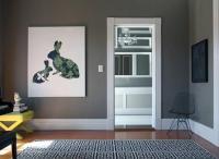 Gray Walls - Contemporary - living room - Behr Squirrel ...