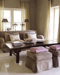 Mohair Sofa - Contemporary - living room