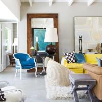 Yellow Couch Design Ideas