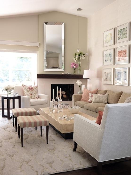 Camel Sofa Design Ideas - beige couch living room