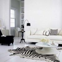 Zebra Cowhide Rug Design Ideas