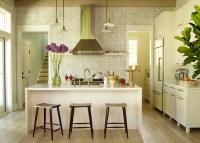 Geometric Kitchen Backsplash - Transitional - kitchen ...