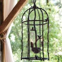 Pendant Cage Lamp - New! | Wisteria