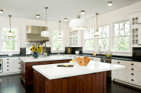 Kitchen with 2 Islands - Transitional - kitchen - Emily ...